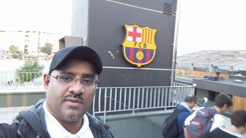 زيارة نادي برشلونة الاسباني