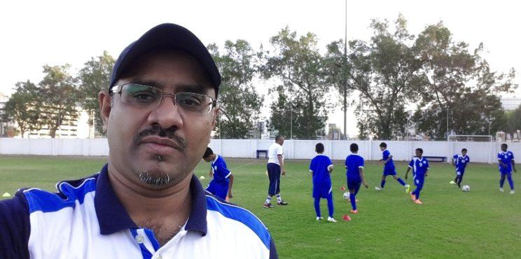 زيارة اكاديمية نادي النصر الإماراتي