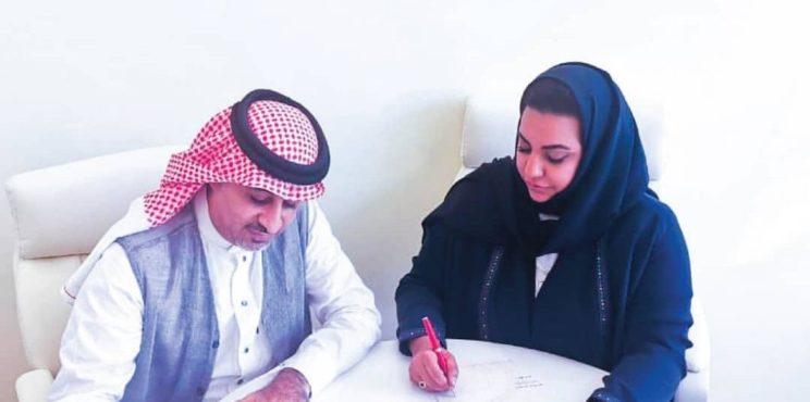 خلود العطار أول متحدثة إعلامية في تاريخ الأندية السعودية بعد توليها المركز الإعلامي بنادي الوحدة