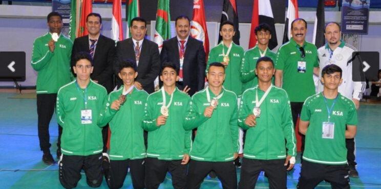 شباب وناشئو المملكة للكاراتيه يحصدون 7 ميداليات عربية في بداية انطلاق البطولة العربية الرابعة بتونس