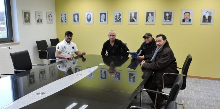 زيارة اتحاد كرة القدم دولة لكسمبورغ