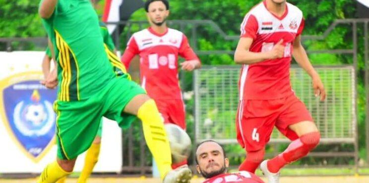 أهلي صنعاء  يتعادل مع 22مايو ويتأهل للمرحلة الثانية للدوري التنشيطي