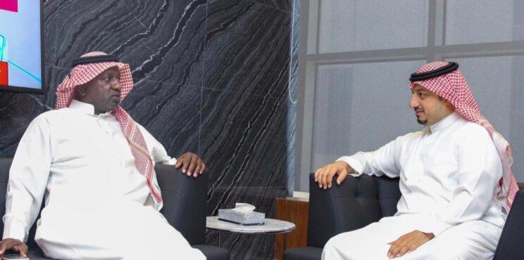 ماجد عبدالله يبحث مع المسحل هموم قدماء اللاعبين   سعدالمصبح الرياض
