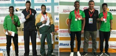 المنتخب السعودي لألعاب القوى لذوي الإعاقة يحقق 4 ميداليات فضيات