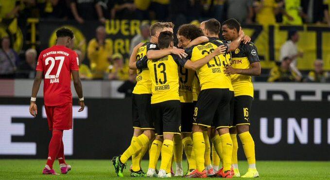 بروسيا دورتموند بطلاً لكأس السوبر الألماني