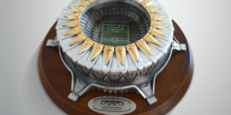 روعة مجسم ملعب مدينة الملك عبدالله الرياضية