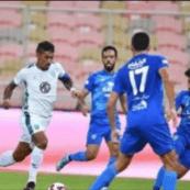 """""""الأهلي والفتح"""" يتعادلان في الجولة الخامسة من دوري كأس الأمير محمد بن سلمان لكرة القدم"""